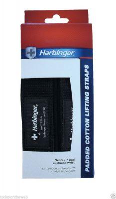 Harbinger Padded Cotton Lifting Straps 21300