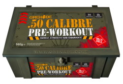 Grenade 50 Calibre Pre-Workout 50 Servis + HEDİYE - Thumbnail