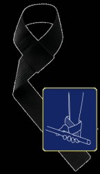 HARBINGER - Harbinger Cotton Lifting Straps 21501 Kayış