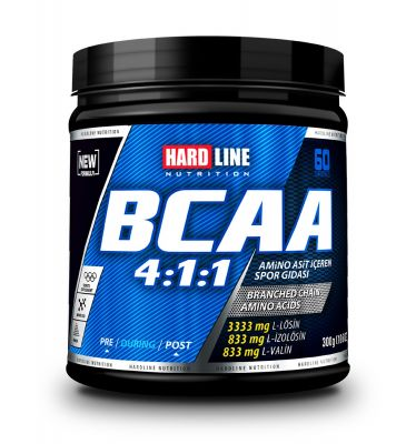 Hardline BCAA 4:1:1 Toz 300 gr