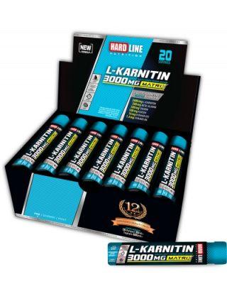 Hardline L-KARNITIN MATRIX 3000 mg 30 ml*20 adet
