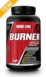 HARDLINE - Hardline Nutrition Burner 120 tablet + HEDİYE