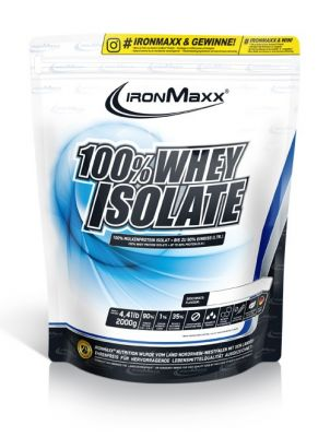 Ironmaxx %100 Whey Isolate Protein 2000 Gr