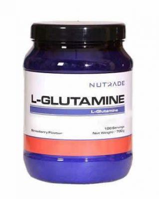 Nutrade L-Glutamine 700 Gr Çilek Aromalı + HEDİYE