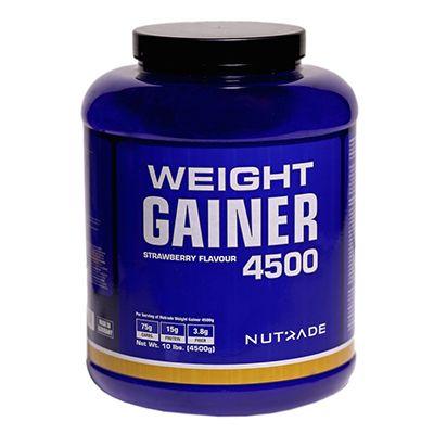 Nutrade Weight Gainer 4500 Gr Karbonhidrat Çilek Aromalı Sıfır Şeker