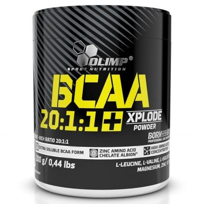 Olimp BCAA 20:1:1 + Xplode Powder 200 Gr Kola Aromalı