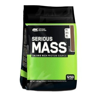 Optimum Nutrition ON Serious Mass 5450 g Çikolata