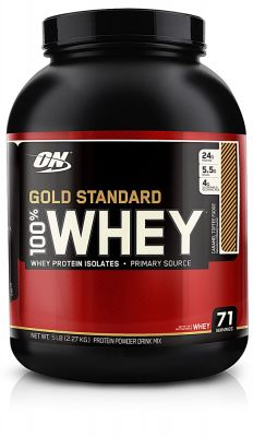 Optimum O.N. Whey Gold Standard Protein 2273 gr Caramel Toffee Fudge