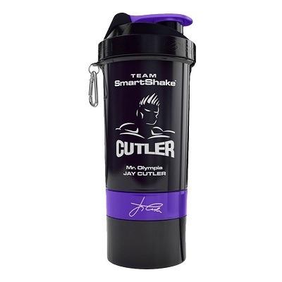 Smartshake Jay Cutler Limited Edition 800 ml 3 Bölmeli SHAKER