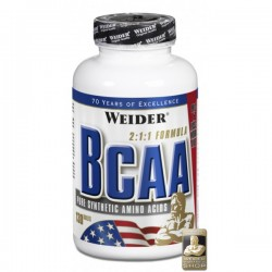 Weider All Free Form BCAA 1120 mg 130 tablet - Thumbnail