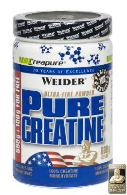 Weider Pure Creatine 600 gr Powder Kreatin Monohidrat