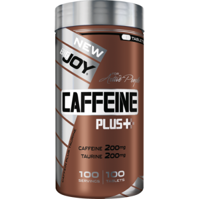 Big Joy Caffeine Plus+ 100 Kapsül Kafein Taurine
