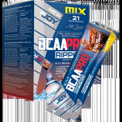 Bigjoy BCAAPRO 4:1:1 Ripped Go mix 21 paket 12 gr Kola Limon