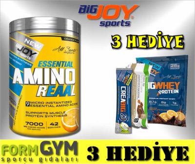 Bigjoy Sports Amino Reaal Portakal 420 gr Esansiyel Aminoasit