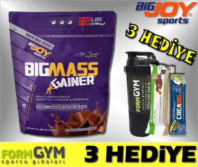 BigJoy Sports BigMass Gainer Çikolata 5440 gr
