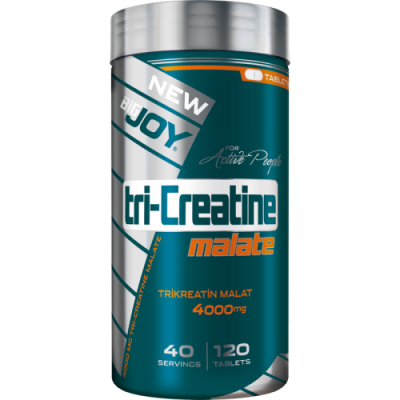 Bigjoy TriCreatine Malate 120 tablet Kreatin Malat