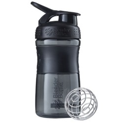 BLENDER BOTTLE - Blender Bottle Shaker 550 ml SportMixer Siyah