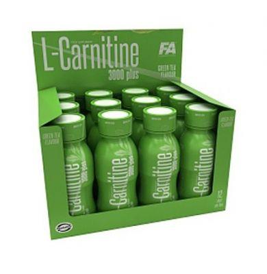 FA Nutrition L-Carnitine 3000 12 Shot 100 ml