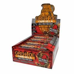 GRENADE - GRENADE Protein Bar Carb Killa 60 gr -12 adet Peanut Butter