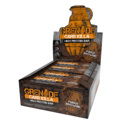 GRENADE - GRENADE Protein Bar Carb Killa 60 gr -12 adet Fudge Brownie
