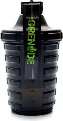 Grenade Smart Shaker 600 ml 2 Bölmeli Siyah