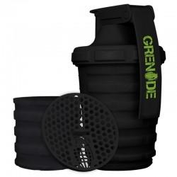 Grenade Smart Shaker 600 ml 2 Bölmeli Siyah - Thumbnail