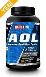 HARDLINE - Hardline AOL Arginine Ornithine Lysine 120 Kaps