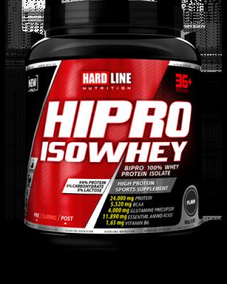 Hardline Hipro isoWhey Protein 908 gr Plain Aromasız Naturel