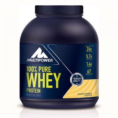Multipower %100 Whey Protein Tozu 2000 gr Muz Mango