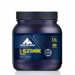MULTIPOWER - Multipower L-Glutamine %100 Pure 500 gr + HEDİYE