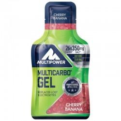 MULTIPOWER - Multipower Multicarbo Gel Karbonhidrat 24x40 gr Karbonhidrat Jel Cherry Banana
