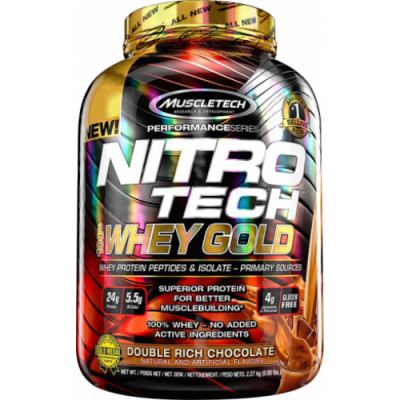 Muscletech NitroTech Whey Gold Protein 2270 gr Çikolata