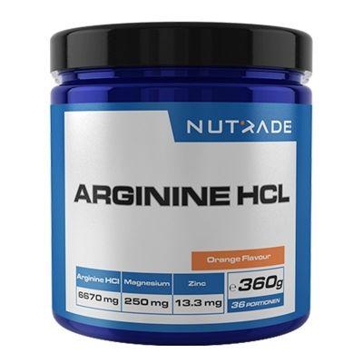 Nutrade Arginine HCL 360 Gr Portakal Aroma