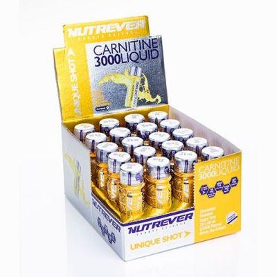 Nutrever L-Carnitine 3000 Liquid 20 Ampül Carnipure