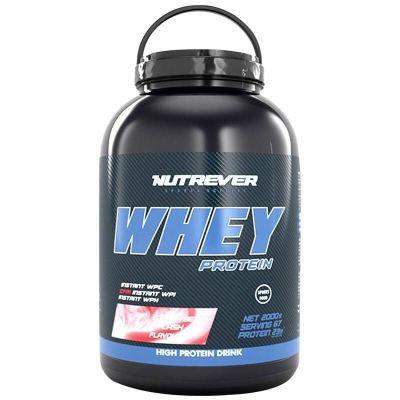Nutrever Whey Protein 2000 Gr Çilek