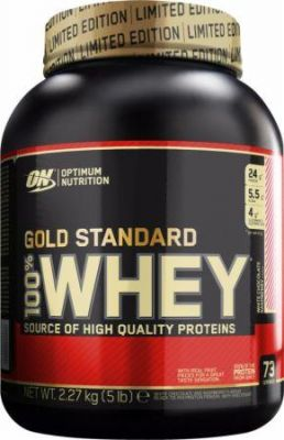 Optimum O.N. Whey Gold Standard Protein 2273 gr White Chocolate Raspberry