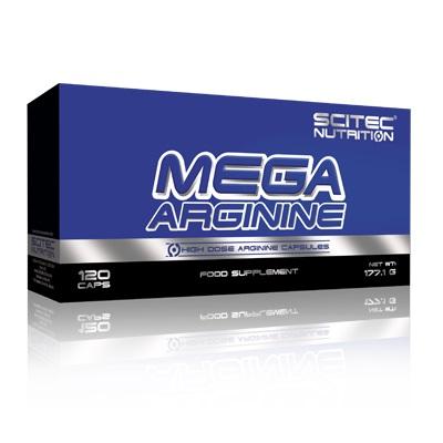Scitec Mega Arginine HCL 120 Kapsül Saf Arjinin