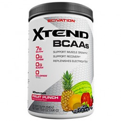 SCIVATION - Scivation Xtend 396 gr BCAA Aminoasit Fruit Punch