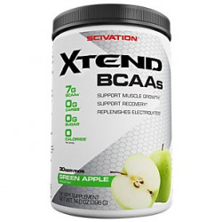 SCIVATION - Scivation Xtend 385 gr BCAA Aminoasit Green Apple