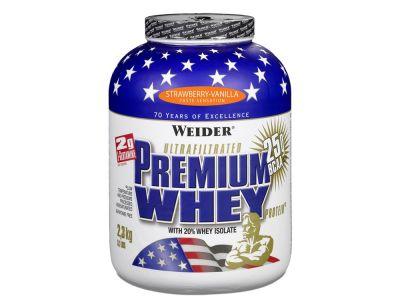 Weider Premium Whey Protein 2,3 kg Çilek